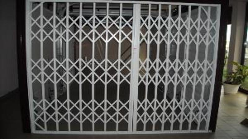 grille protection articul e 2 vantaux grille m tallique