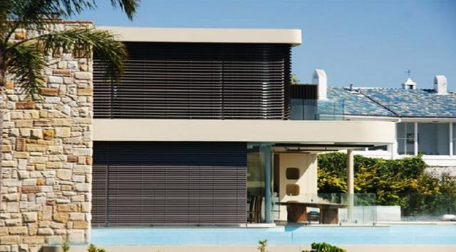 brise vue orientable le brise soleil lames orientables. Black Bedroom Furniture Sets. Home Design Ideas