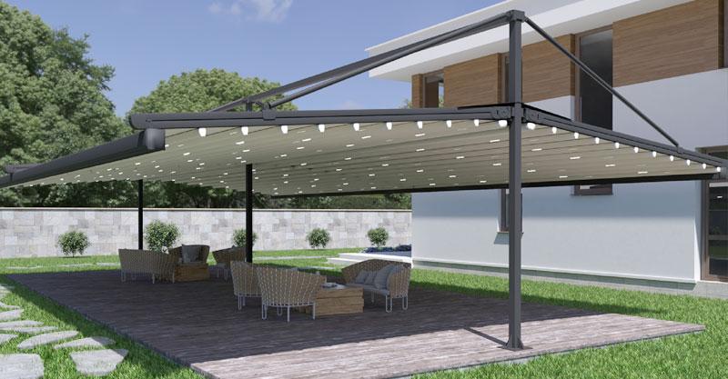 pergola parasol plate devis gratuit. Black Bedroom Furniture Sets. Home Design Ideas