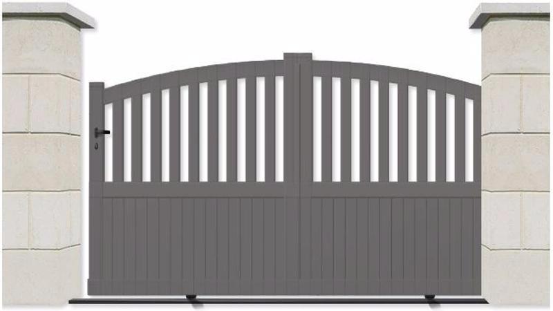 portail pas cher sur mesure. Black Bedroom Furniture Sets. Home Design Ideas