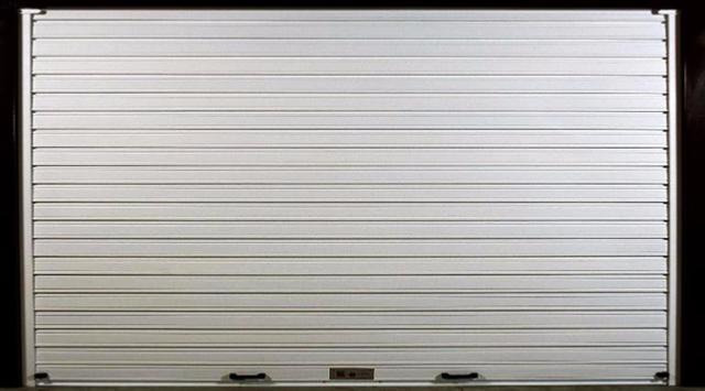 rideau metallique grille metallique plein nao. Black Bedroom Furniture Sets. Home Design Ideas