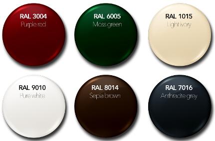 coloris disponible portail NAO