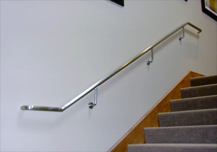 Rampe D Escalier En Aluminium