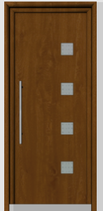 Porte d 39 entr e isol e monobloc for Porte entree isolee