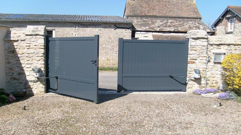 portail aluminium pas cher portail battant. Black Bedroom Furniture Sets. Home Design Ideas