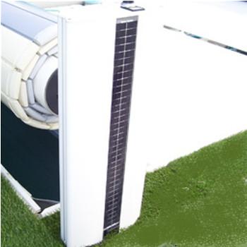 volet de piscine motorisation solaire