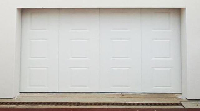 Nao fermetures porte de garage sectionnelle sur mesure - Porte garage a cassette ...
