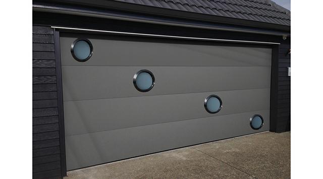 Porte Garage Sectionnelle Design Portes De Garage Sur Mesure