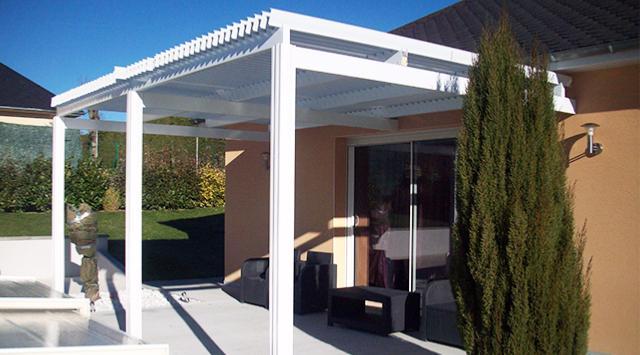pergola bioclimatique pergola en kit pergola aluminium. Black Bedroom Furniture Sets. Home Design Ideas