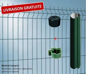 panneau rigide prestco achat grillage rigide pas cher with. Black Bedroom Furniture Sets. Home Design Ideas
