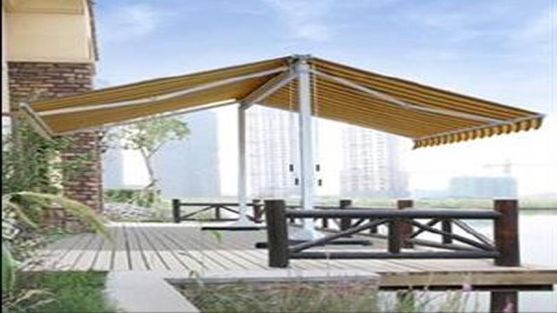 store de terrasse double pente store ext rieur devis store. Black Bedroom Furniture Sets. Home Design Ideas