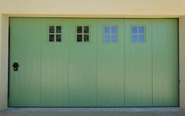 Porte garage lat rale porte de garage sectionnelle sur for Porte de garage sectionnelle 2125 x 2400