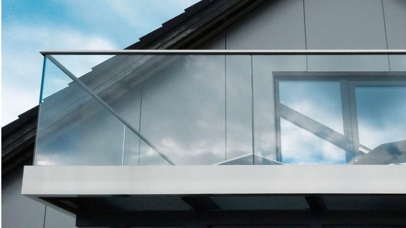 Garde corps en verre garde corp verre sur mesure - Ultra tour vitre ...