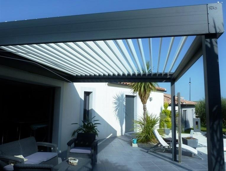 pergola bioclimatique pergola aluminium pergola lames orientables. Black Bedroom Furniture Sets. Home Design Ideas