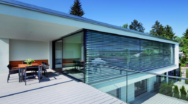 brise soleil z 70 produit en aluminium sur mesure. Black Bedroom Furniture Sets. Home Design Ideas