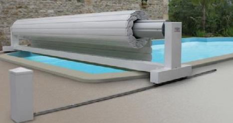 Volet de piscine volet de piscine mobile volet piscine for Rail pour piscine hors sol