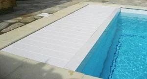 Accessoires volet de piscine devis volet de piscine sur mesure - Caillebotis bois pour piscine ...