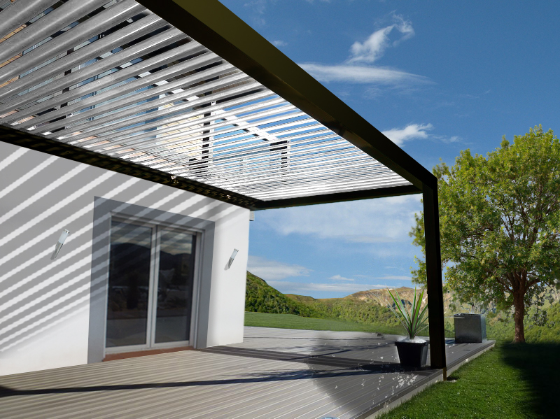 pergola bioclimatique pergola aluminium pergola toile. Black Bedroom Furniture Sets. Home Design Ideas