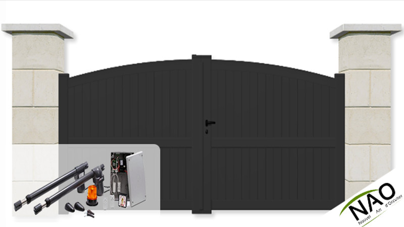 Portail Battant Sur Mesure Portail Battant Motoris