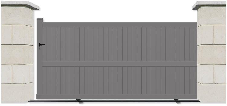 Portail Aluminium Devis Portail Coulissant Portail Coulissant
