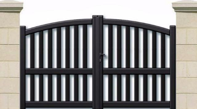 un portail moderne sur mesure de qualit prix bas. Black Bedroom Furniture Sets. Home Design Ideas
