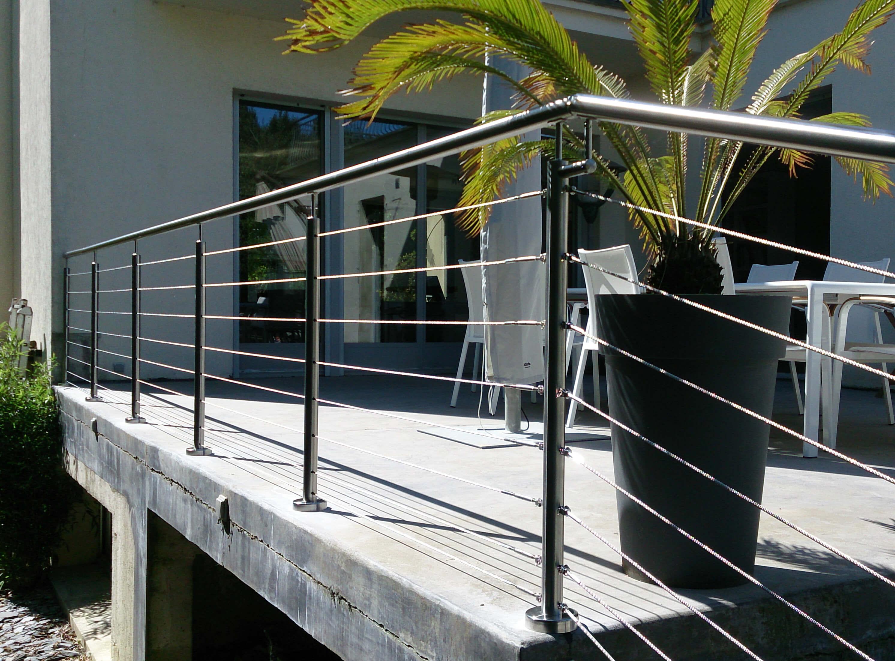 fabricant garde corps aluminium inox. Black Bedroom Furniture Sets. Home Design Ideas