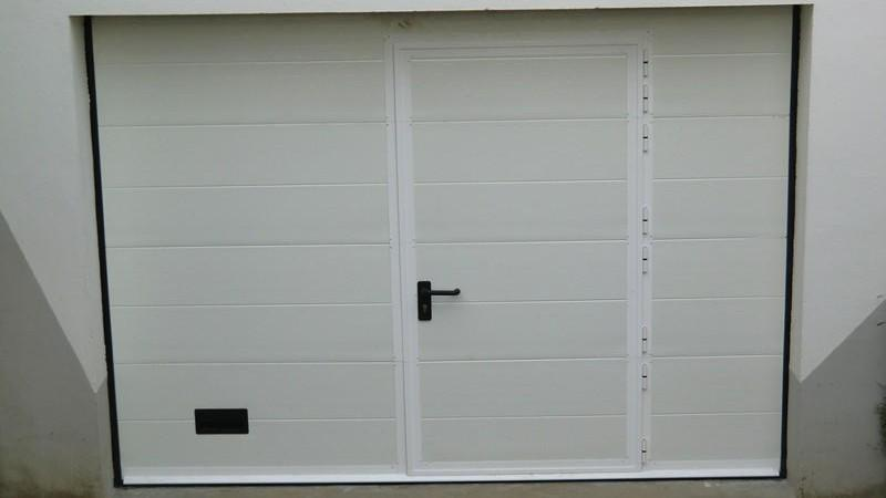 Devis porte garage sectionnelle porte garage doubles for Double porte de garage