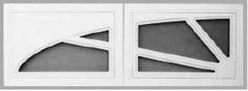 Porte de garage enroulable aluminium Kiev blanc - CASTORAMA