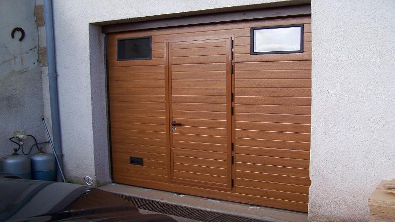 Nao fermetures portillon pour porte de garage for Prix porte garage novoferm