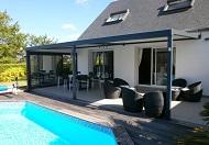pergola bioclimatique pergola aluminium pergola lames orientables. Black Bedroom Furniture Sets. Home Design Ideas