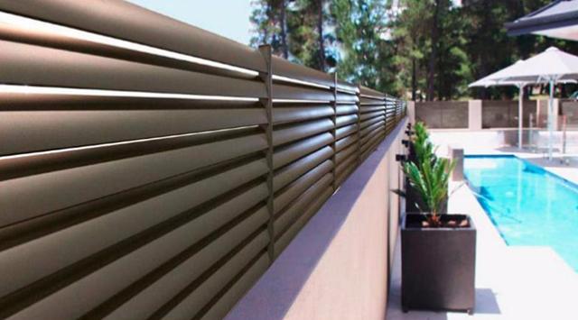 cloture persienne aluminium clotures aluminium. Black Bedroom Furniture Sets. Home Design Ideas