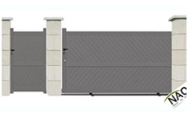 Portail portails sur mesure for Pack portail portillon