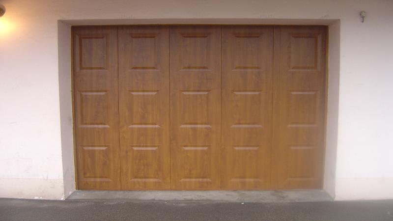 Nao fermetures porte de garage sectionnelle sur mesure - Porte de garage devis en ligne ...