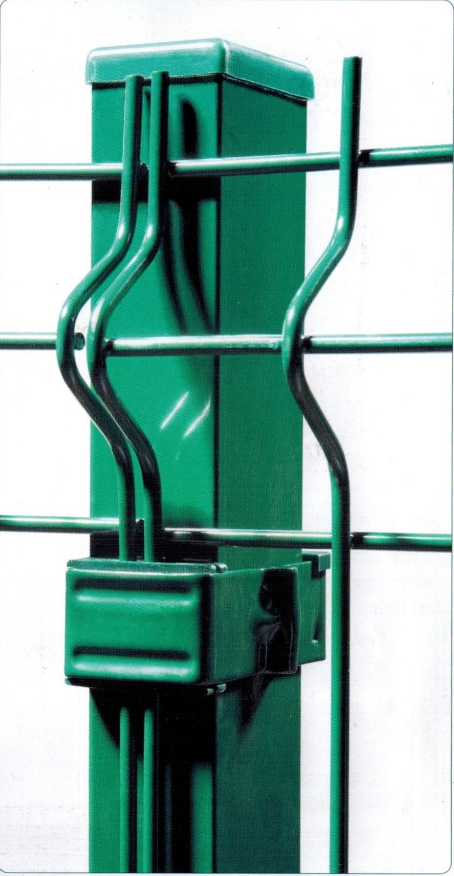 Poteau Pour Grillage Rigide : Panneau grillage rigide accessoires