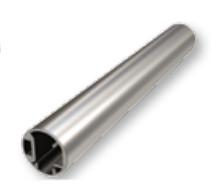 rail inférieur garde corps aluminium traditionnel