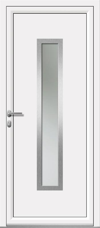 porte aluminium porte d 39 entr e sur mesure. Black Bedroom Furniture Sets. Home Design Ideas