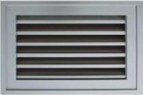 Grille de ventilation pour porte de garage for Grille de ventilation pour porte