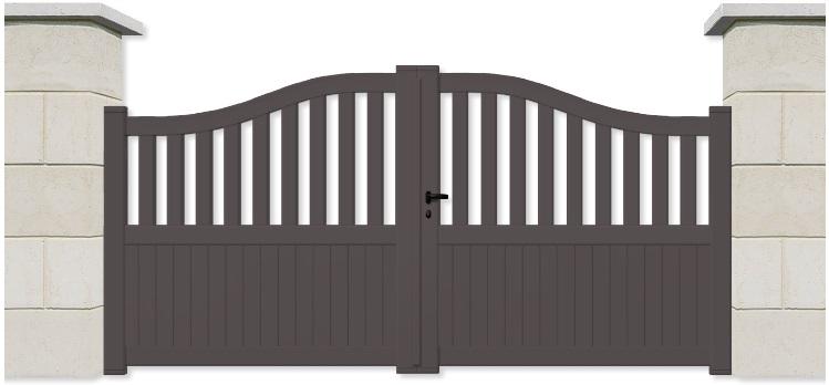 Portail aluminium devis portail aluminium portail battant for Portail alu battant sur mesure