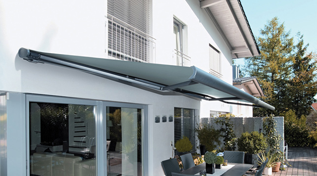 pergola aluminium toile retractable