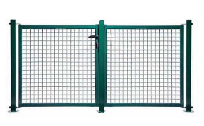 Panneau grillage rigide pas cher for Dimension portillon standard