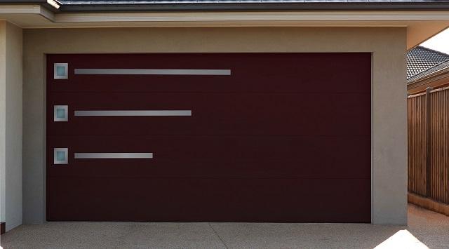 Portes de garage sur mesure sectionnelle design - Porte garage sur mesure ...