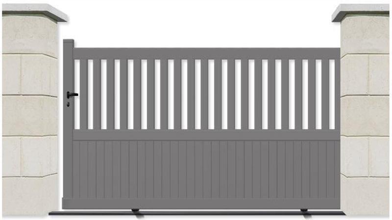 Un portail en aluminium de bonne qualité sur mesure à prix bas