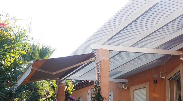 Pergola Bioclimatique à lames orientables Traditionnelle