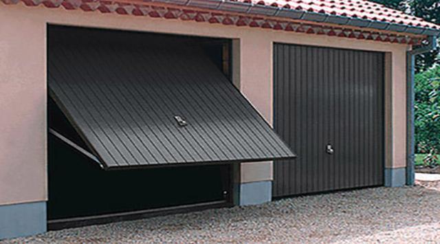 Prix porte garage basculante devis porte garage basculante - Portail de garage basculant ...