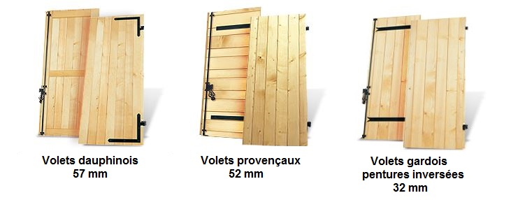 devis volet en bois volet battant en bois sur mesure. Black Bedroom Furniture Sets. Home Design Ideas